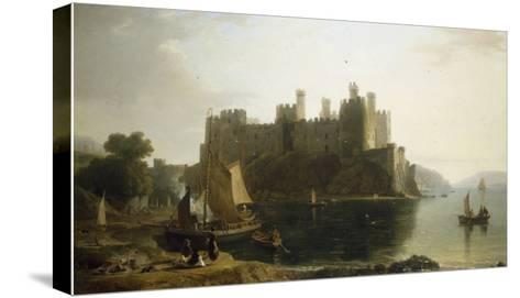 Conway Castle, North Wales-William Daniell-Stretched Canvas Print