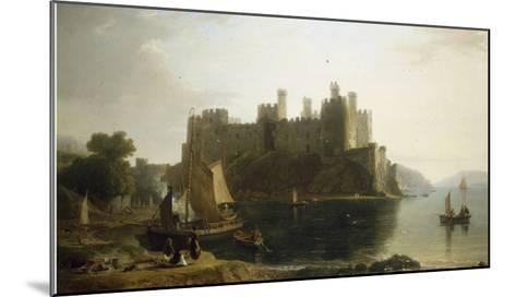 Conway Castle, North Wales-William Daniell-Mounted Giclee Print