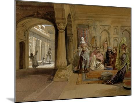 The Mahomedam Hareem, Delhi, 1864-William Simpson-Mounted Giclee Print