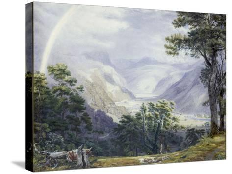 The Vale of Ffestiniog, from Tan-Y-Bwlch Hall-J^ M^ W^ Turner-Stretched Canvas Print