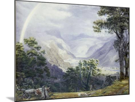 The Vale of Ffestiniog, from Tan-Y-Bwlch Hall-J^ M^ W^ Turner-Mounted Giclee Print