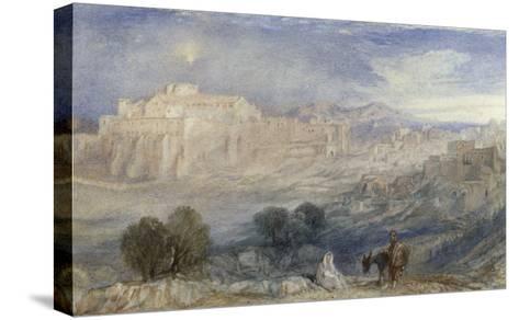 Bethlehem - The Flight into Egypt, c.1833-1836-J^ M^ W^ Turner-Stretched Canvas Print