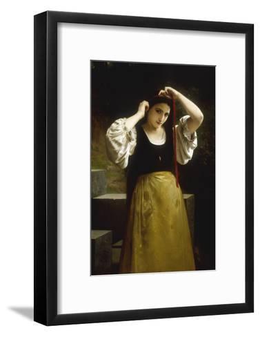 La Toilette Rustique, 1869-William Adolphe Bouguereau-Framed Art Print