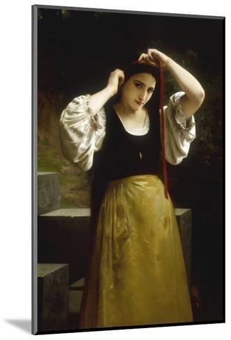 La Toilette Rustique, 1869-William Adolphe Bouguereau-Mounted Giclee Print