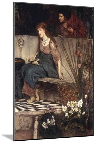 The First Reproach-Sir Lawrence Alma-Tadema-Mounted Giclee Print