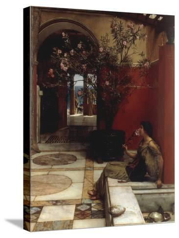 The Oleander-Sir Lawrence Alma-Tadema-Stretched Canvas Print
