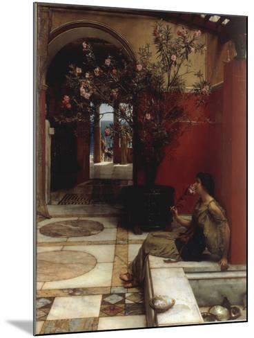 The Oleander-Sir Lawrence Alma-Tadema-Mounted Giclee Print
