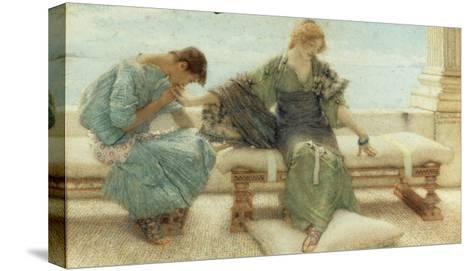 Youth, 1908-Sir Lawrence Alma-Tadema-Stretched Canvas Print