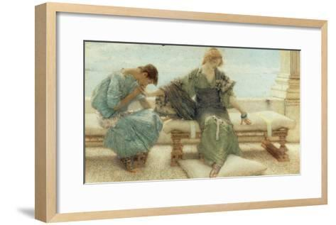 Youth, 1908-Sir Lawrence Alma-Tadema-Framed Art Print