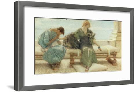 Youth, 1908-Sir Lawrence Alma-Tadema-Framed Art Print