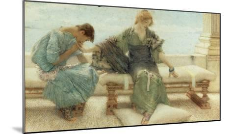 Youth, 1908-Sir Lawrence Alma-Tadema-Mounted Giclee Print