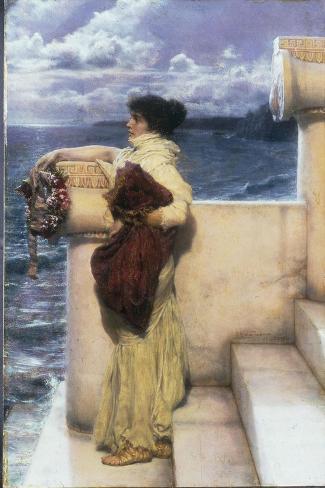 Hero, 1898-Sir Lawrence Alma-Tadema-Stretched Canvas Print