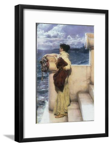 Hero, 1898-Sir Lawrence Alma-Tadema-Framed Art Print
