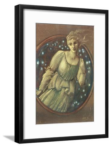 The Nymph of the Stars, c.1888-Edward Burne-Jones-Framed Art Print