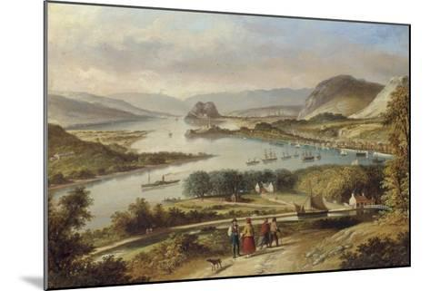 The Clyde from Dalnotter Hill, 1857-Thomas Dudgeon-Mounted Giclee Print