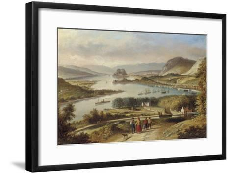 The Clyde from Dalnotter Hill, 1857-Thomas Dudgeon-Framed Art Print