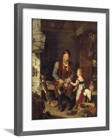 The Cobbler, 1839-Alexander Fraser-Framed Art Print