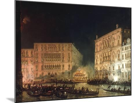 A Venetian Festival-Giovanni Grubacs-Mounted Giclee Print