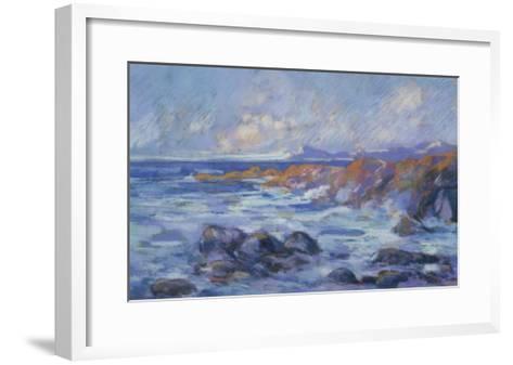 Paysage, c.1872-Jean-Baptiste-Armand Guillaumin-Framed Art Print