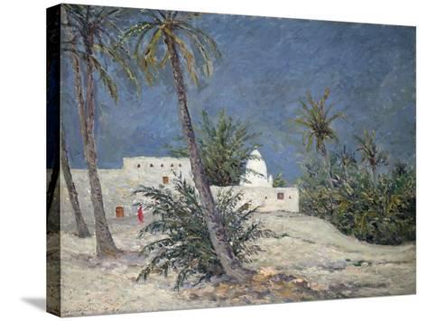 Le Marabout de Bou-Chagroune, Sahara, 1913-Maxime Emile Louis Maufra-Stretched Canvas Print