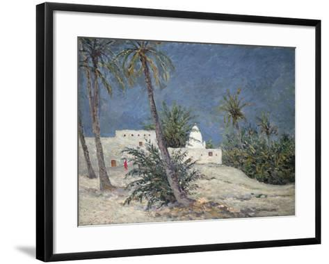 Le Marabout de Bou-Chagroune, Sahara, 1913-Maxime Emile Louis Maufra-Framed Art Print