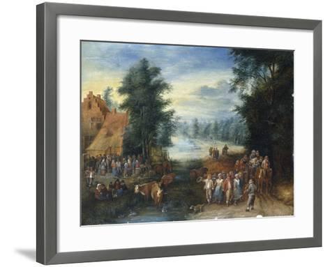 The Four Seasons - Spring-Theobald Michau-Framed Art Print