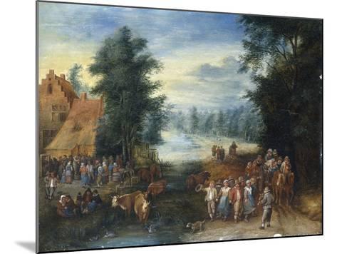 The Four Seasons - Spring-Theobald Michau-Mounted Giclee Print