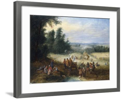 The Four Seasons - Summer-Theobald Michau-Framed Art Print
