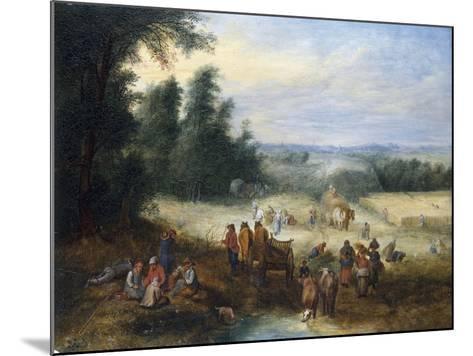 The Four Seasons - Summer-Theobald Michau-Mounted Giclee Print