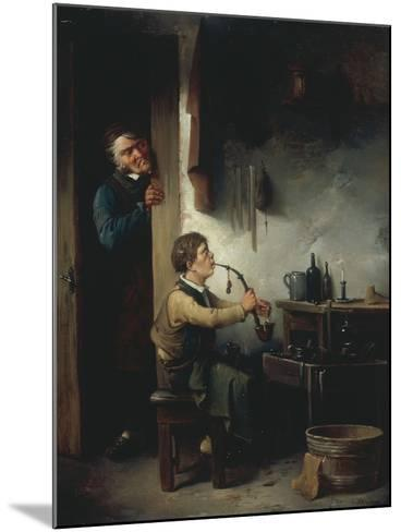 The Young Apprentice-Christian Andreas Schleisner-Mounted Giclee Print