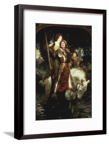Laus Deo!-Joseph Solomon Solomon-Framed Art Print