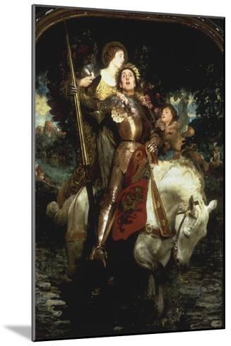 Laus Deo!-Joseph Solomon Solomon-Mounted Giclee Print