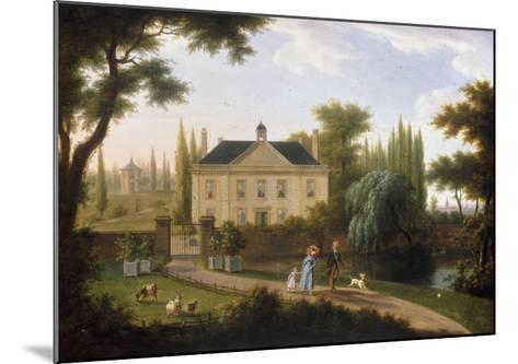 A Walk in the Park-Franz Swagers-Mounted Giclee Print