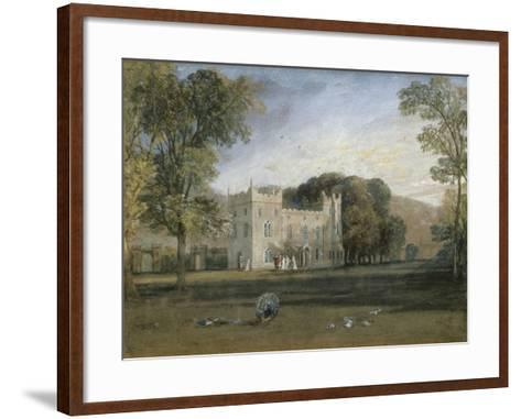 Clontarf Castle, Co. Dublin, c.1817-J^ M^ W^ Turner-Framed Art Print