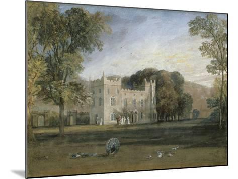 Clontarf Castle, Co. Dublin, c.1817-J^ M^ W^ Turner-Mounted Giclee Print
