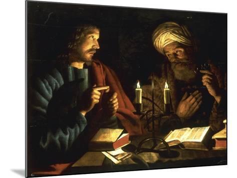 Christ and Nicodemus-Crijn Hendricksz Volmarijn-Mounted Giclee Print