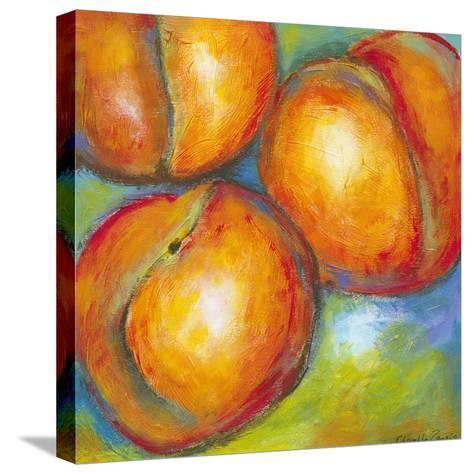 Abstract Fruits II-Chariklia Zarris-Stretched Canvas Print