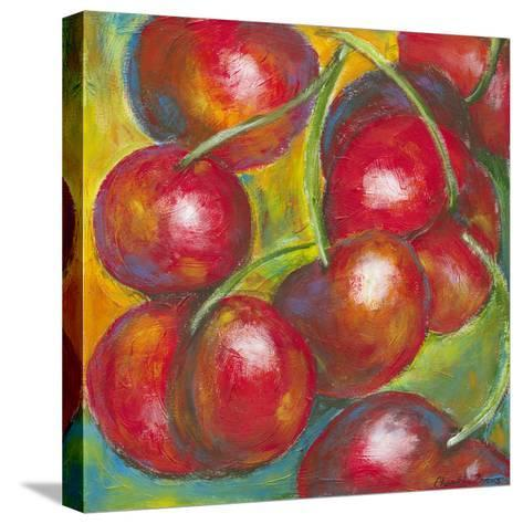Abstract Fruits III-Chariklia Zarris-Stretched Canvas Print