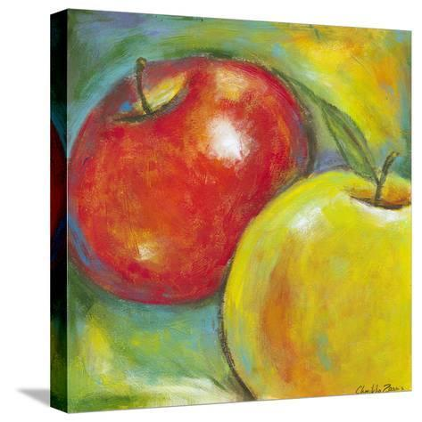Abstract Fruits IV-Chariklia Zarris-Stretched Canvas Print
