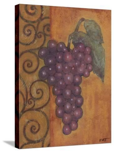 Scrolled Grapes I-Norman Wyatt, Jr^-Stretched Canvas Print