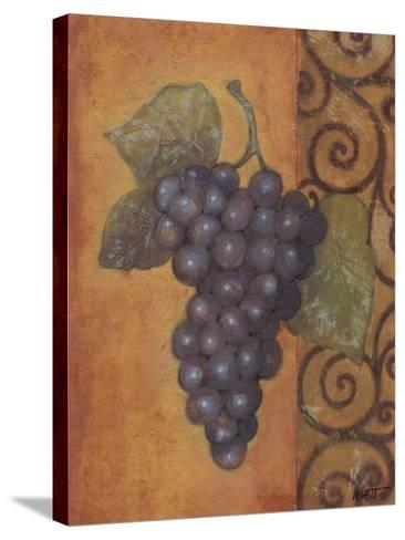 Scrolled Grapes II-Norman Wyatt, Jr^-Stretched Canvas Print