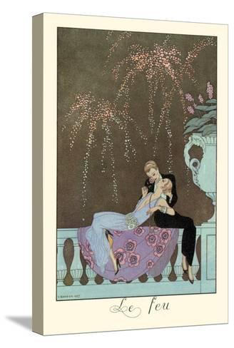 Le Feu-Georges Barbier-Stretched Canvas Print