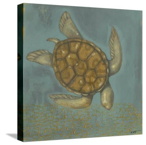 Sea Turtle I-Norman Wyatt Jr^-Stretched Canvas Print