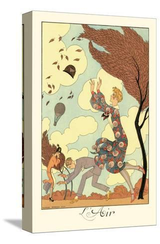 L'Air-Georges Barbier-Stretched Canvas Print