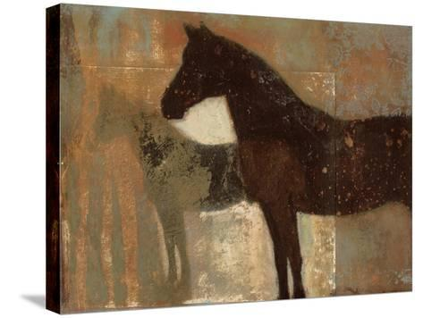 Weathered Equine II-Norman Wyatt Jr^-Stretched Canvas Print