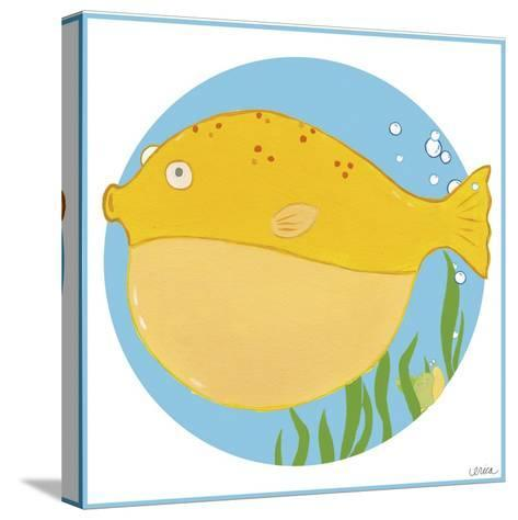Billy the Blowfish-Erica J^ Vess-Stretched Canvas Print