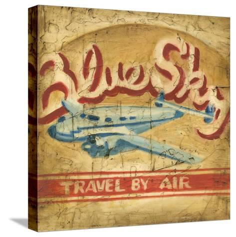 Blue Sky Travel-Ethan Harper-Stretched Canvas Print