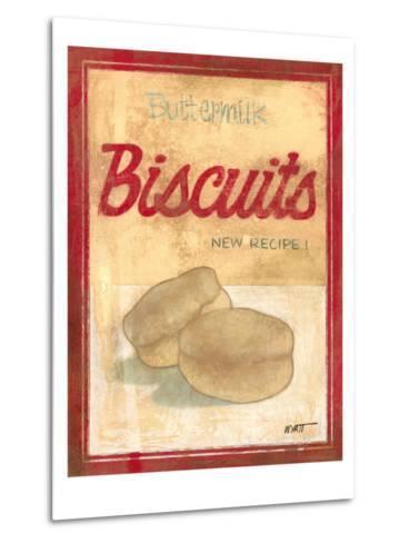 Buttermilk Biscuit Mix-Norman Wyatt Jr^-Metal Print