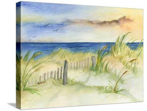 Dunes at Duck-Terry Bailey Burton-Stretched Canvas Print
