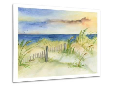 Dunes at Duck-Terry Bailey Burton-Metal Print
